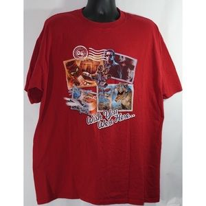 Universal Studios Wish You Were Here T Shirt  2X